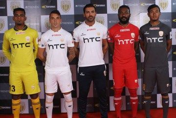 NorthEast United FC 2016/17 PerforMax Kits