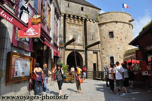 King's Gate leading into Mont St. Michel.