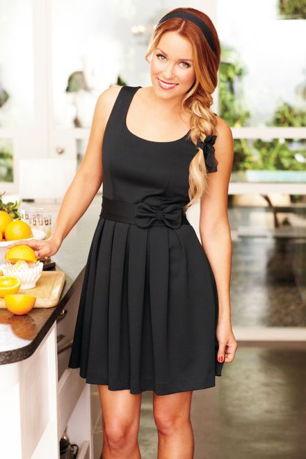 @Lauren Conrad is never not gorge.: Fashion, Style, Cute Dresses, Clothing, Bows, Little Black Dresses, Lauren Conrad, The Dresses, Hair