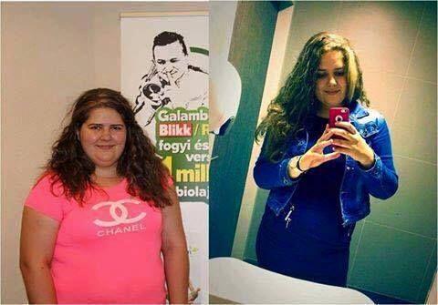Báder Laura 3,5 hónap alatt -23 kg-ot fogyott a Lagzi Lajcsi által meghirdetett versenyen.  http://regenordieta.hu/