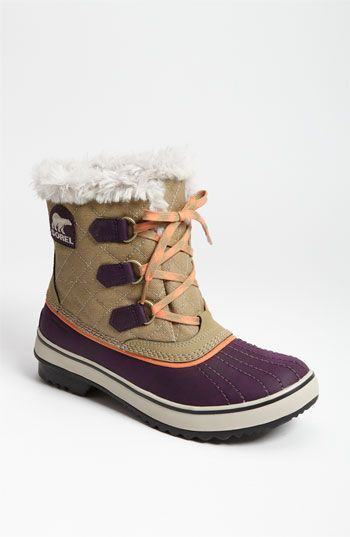 Sorel boots are PERFECT for winter! Especially Sundance. Uggs are comfy but you can't wear them outdoors in the slush. These are perfect!!  Sorel 'Tivoli' Waterproof Boot available at #Nordstrom