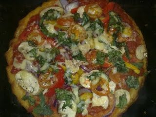 Slimming World Recipes: SYN FREE 'SMASH' PIZZA