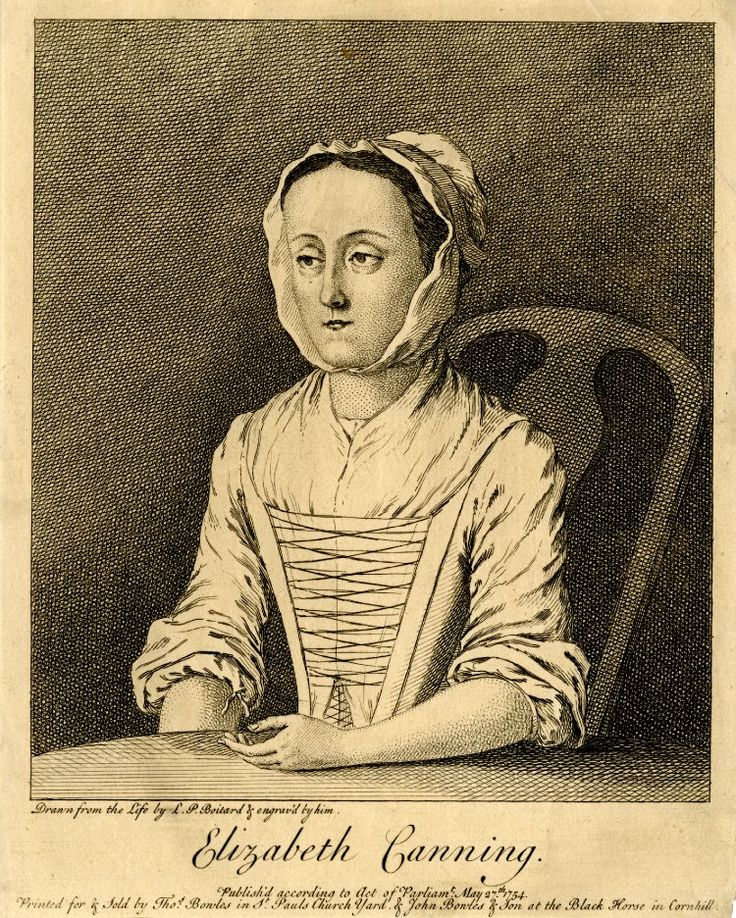 Elizabeth Canning 1754 © The Trustees of the British Museum 1851,0308.160