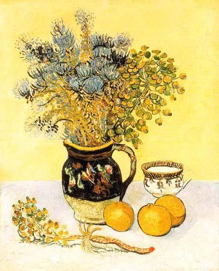 Nature Morte de Vincent Van Gogh , 1888.