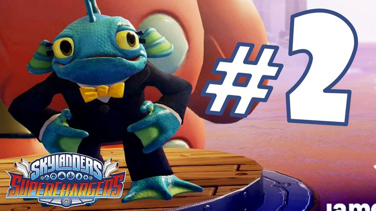 Skylanders Superchargers Gameplay ITA Walkthrough #2 - Iron Equalizer - PS4
