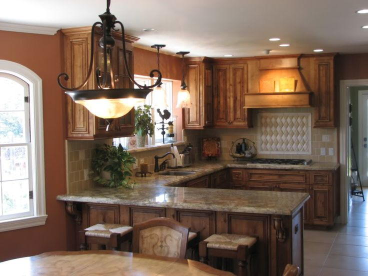 Small U-shaped Kitchen Layouts