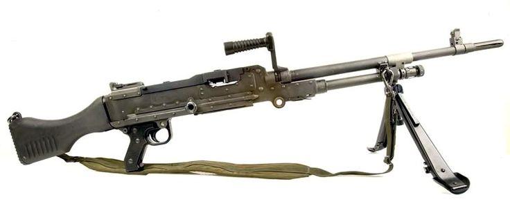 British L7A2 General Purpose Machine Gun (variant of the FN MAG)