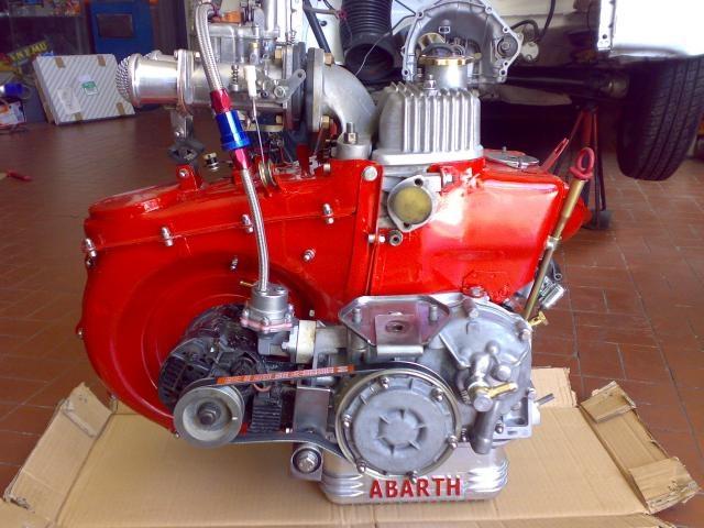 Fiat 500 600 cc engine