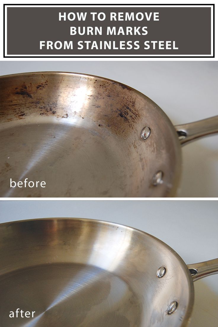 How To Clean Burnt Stainless Steel Pots And Pans Cleaning Hacks Pot