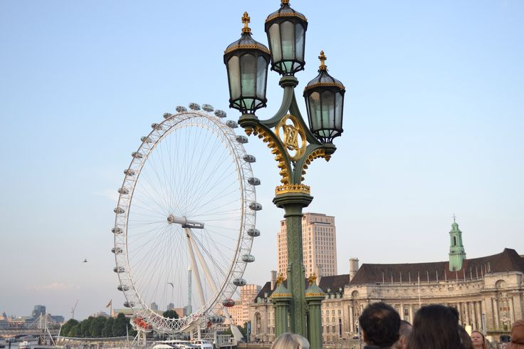 City photography, London Eye classic