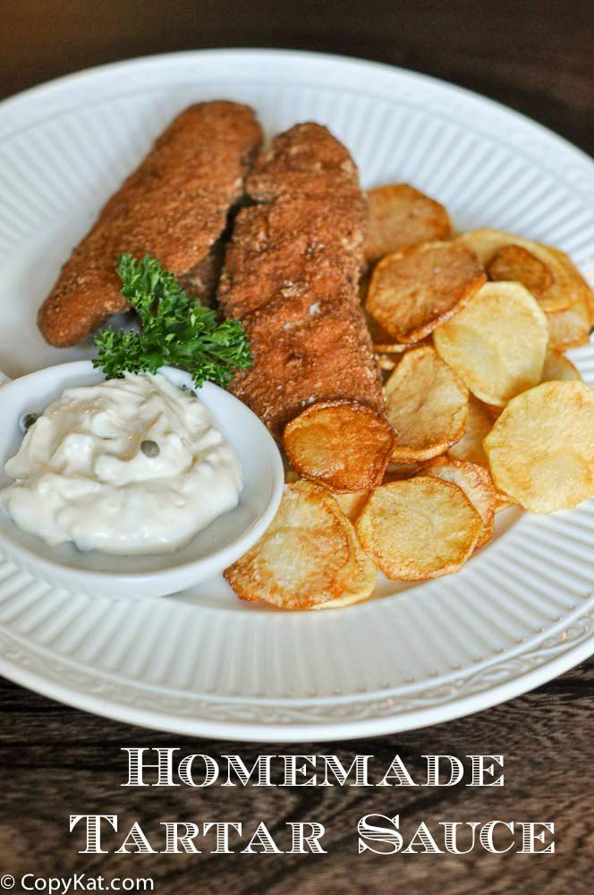 Homemade Tartar Sauce. ou may have been wondering how to make tartar sauce. Did you know it is an easy sauce to make? I bet you have everything you need in your pantry already. CopyKat.com.