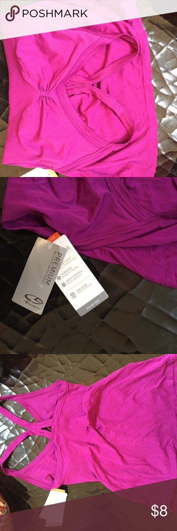 Purple tank, Target's C9 by Champion brand New with tags, cute cut. Champion Tops Tank Tops