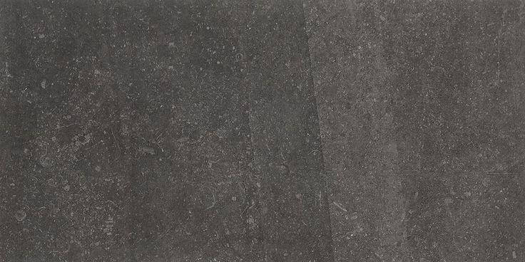 Bricmate Limestone Anthracite 30x60, med härlig kalkstenskänsla. Varierar i nyans och mönster.