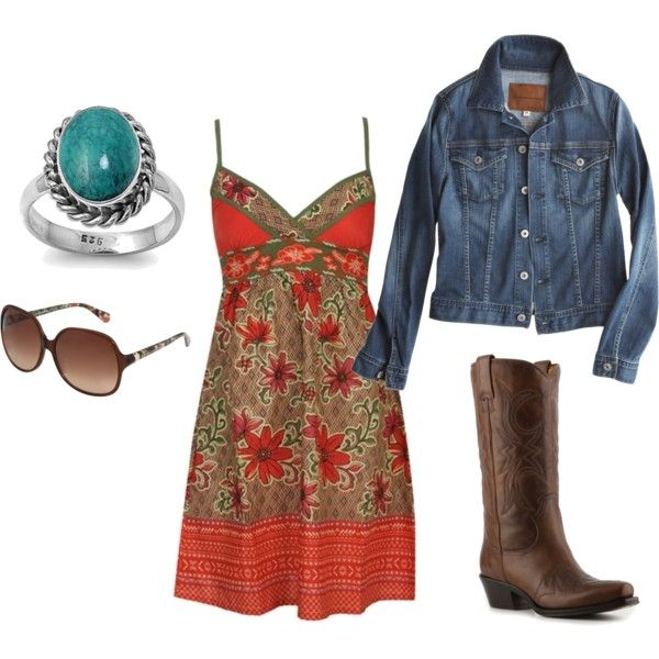country in the sun, created by jpitts: Fashion, Country Outfit, Style, Country Girl, Dream Closet, Dresses