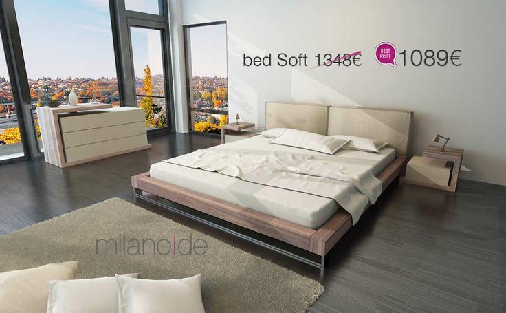 Επιβλητικό, απλό & στιβαρό, σε ένα #design που ταλανίζεται ανάμεσα στο #minimal & το dojo, το #κρεβάτι Soft από τη Milanode θα σας εντυπωσιάσει με την κομψή του απλότητα.   https://www.milanode.gr/product/gr/2047/krebati_soft.html