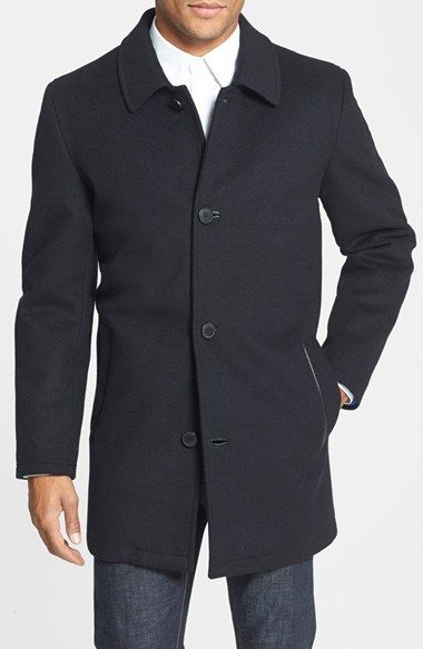 Vince Camuto Water Repellent Wool Blend Car Coat available at Nordstrom
