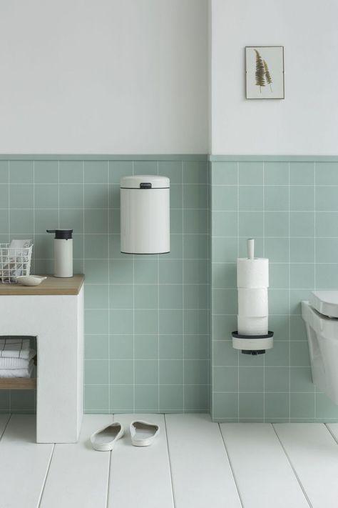 Une Mini Poubelle Design Pour La Salle De Bains