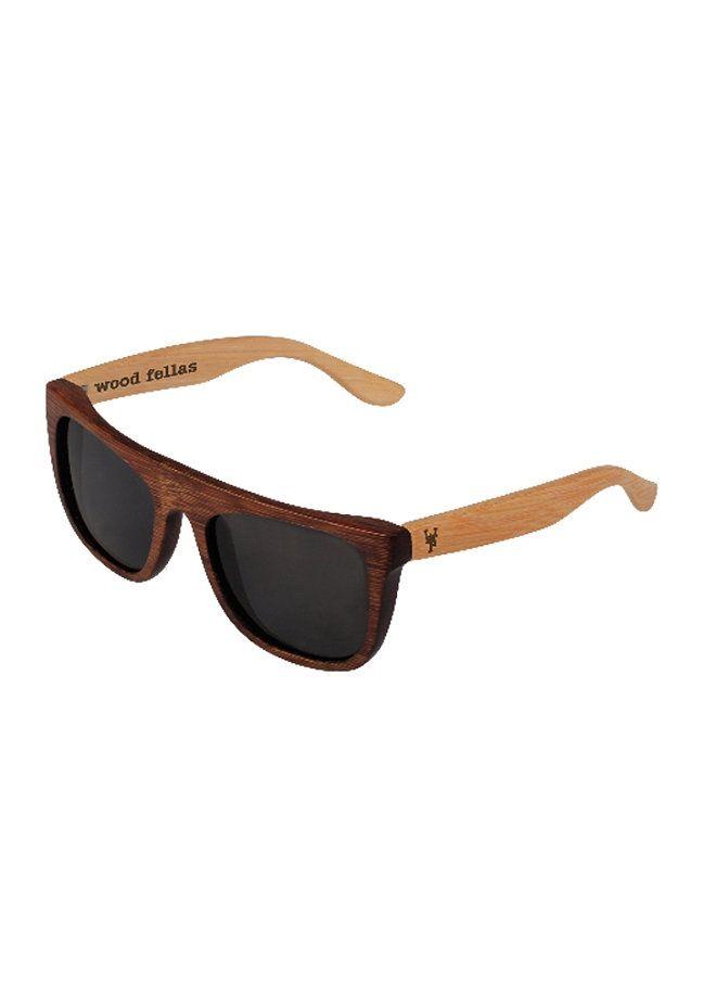 MasterDis Wood Fellas Sunglasses Mino brown/wheat #planetsports