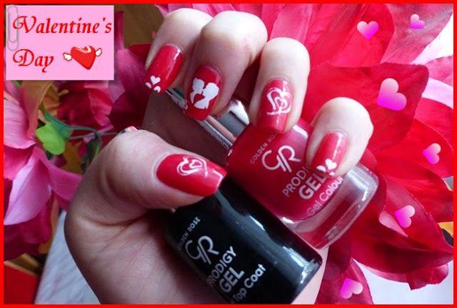 Zebra Testuje: Manicure w sam raz na Walentynki :]