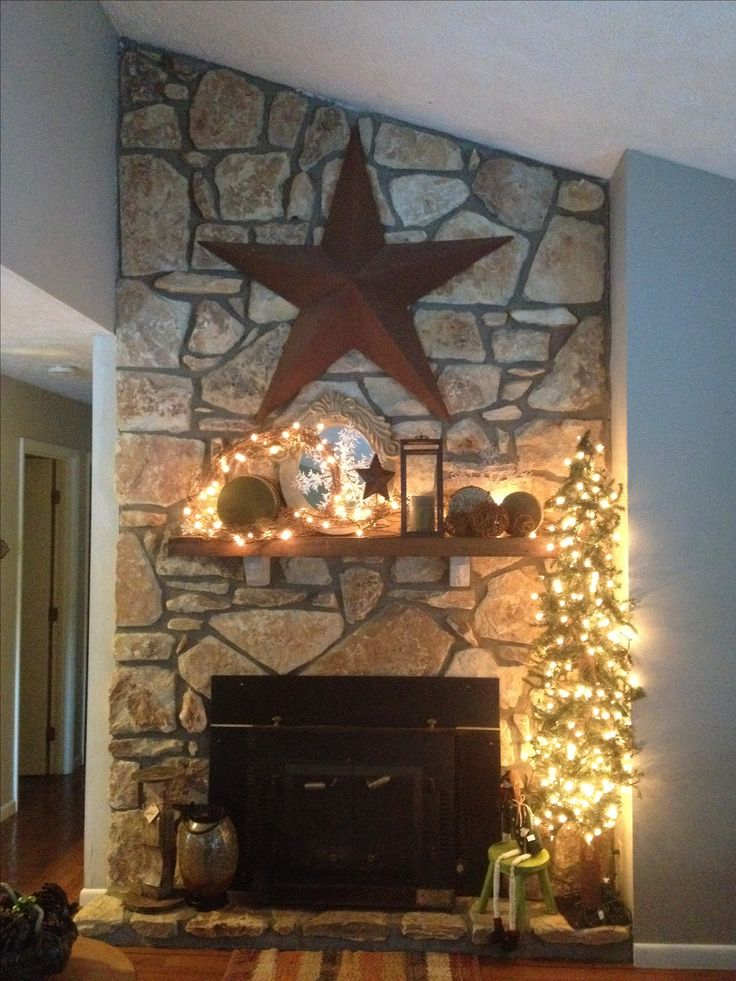 1000 Ideas About Country Fireplace On Pinterest Cottage