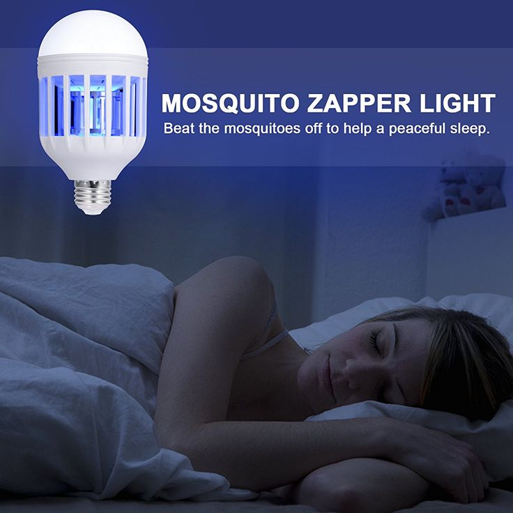 Zapper Light Bulb, Electronic Insect Killer, Mosquito Zapper Lamp