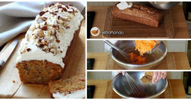 Pastel de Zanahorias o Carrot Cake estilo STARBUCKS