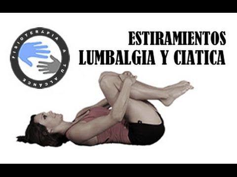 Lumbalgia y ciática, estiramientos para aliviar el dolor / Fisioterapia ...