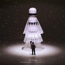 Christmas Tree - miniature calendar - Tatsuya Tanaka