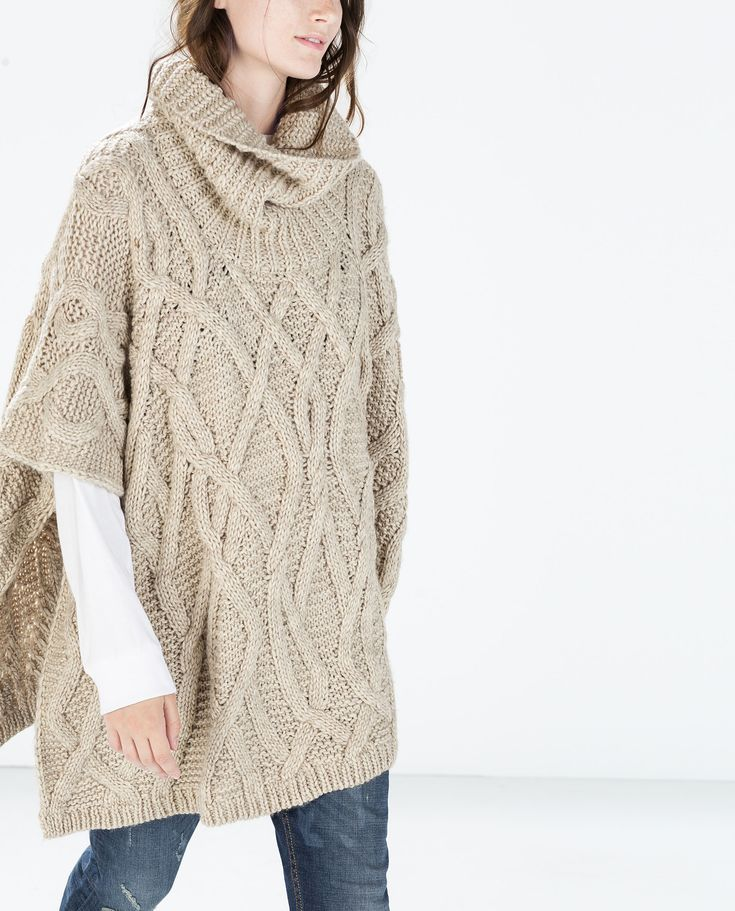 I have this poncho I got mine at Banana Republic Outlet