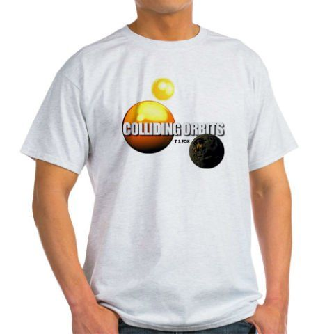 COLLIDING ORBITS Men's T-Shirt: http://www.collidingorbits.co.uk/html/t-shirts.html