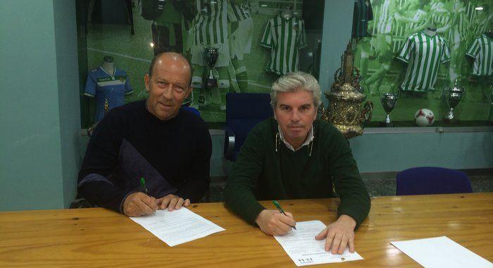 Calderón ya ejerce como nuevo entrenador del Betis - http://mercafichajes.es/20/01/2014/calderon-nuevo-entrenador-betis/