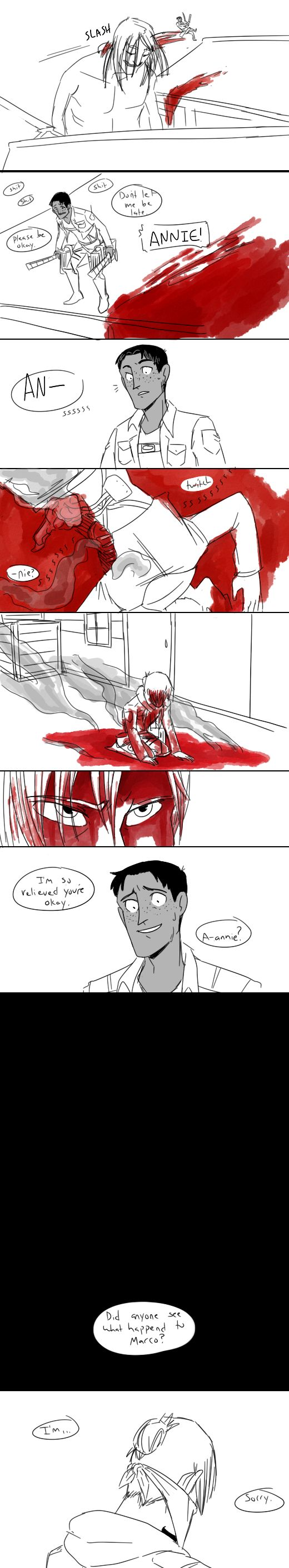 annie leonhardt and marco bodt. This is a horrible explanation oh my god!!!!!!!!!