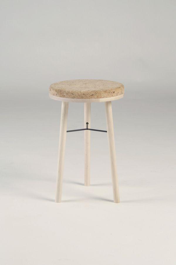 Tripod stool by Marcin Bahrij