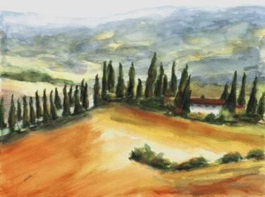 "Saatchi Art Artist Maga Fabler; Painting, ""Podere Bella Collina"" #art"