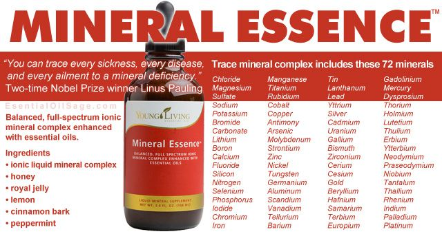 #MineralEssence #IonicMinerals #TraceMinerals from #YoungLiving #EssentialOils