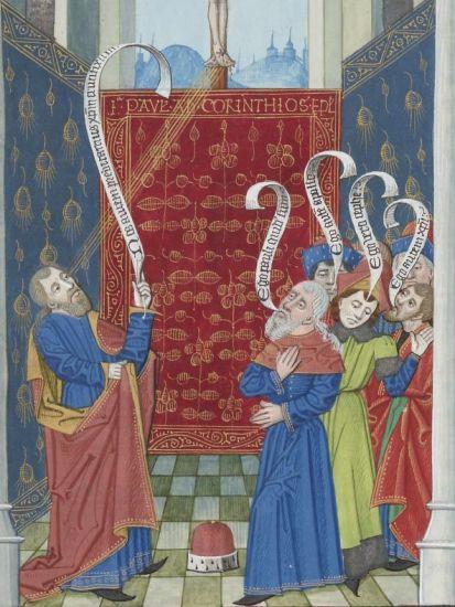 Paris, BnF, lat. 11978 (15th century) - MEDIEVAL SPEECH BUBBLES