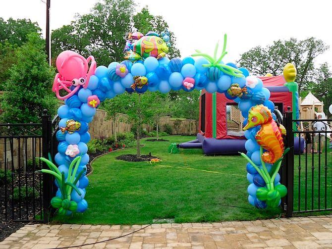 Unique Shape Balloon Gate - Galeri Balon - Jasa Dekorasi Balon Murah Jakarta - Balloon Decoration Service