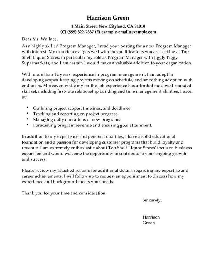 23+ Example Of Cover Letter For Resume . Example Of Cover ...