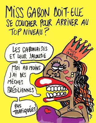 Miss Gabon - Cheveux Africaines
