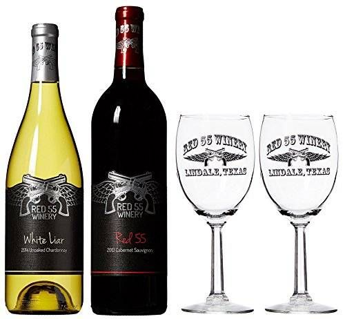 cool Miranda Lambert, Red 55 Cabernet, White Liar Chardonnay, and 2 Red 55 Glasses Gift Set, 2 x 750 ml Check more at https://aeoffers.com/amazon-shopping/wine-amazon/miranda-lambert-red-55-cabernet-white-liar-chardonnay-and-2-red-55-glasses-gift-set-2-x-750-ml/