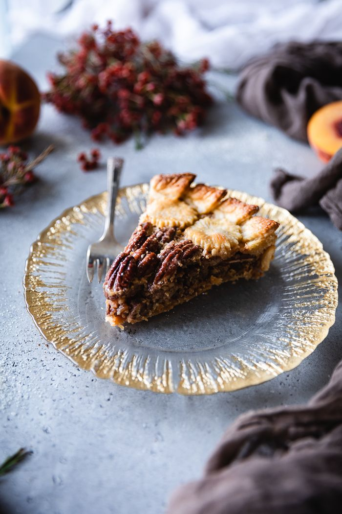 Pecan Pie With Ginger Cinnamon Maple And Condensed Milk Plum Pecan Pie Milk Recipes Condensed Milk Recipes