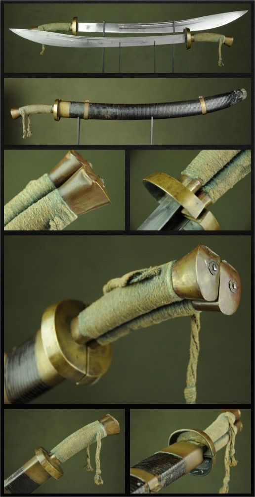 Twin Dao Swords Dated: circa 18th century Culture: Chinese Medium: steel, copper, silk, wood, leather Source: Copyright © 2016 Historical Arms & Armor by polly