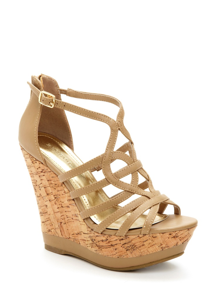 so cute.: Mystyle, Currently Wedges, Shoes Heavens, Tans Heavens, Events, Strappy Tans, Summer Wedges, Shoes Addiction, Shoes Shoes