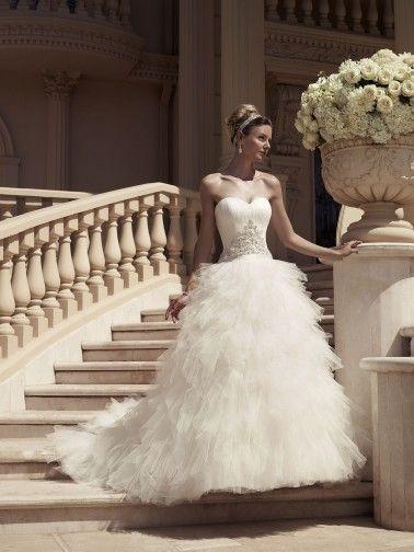 Casablanca+Wedding+Dresses+-+Style+2114