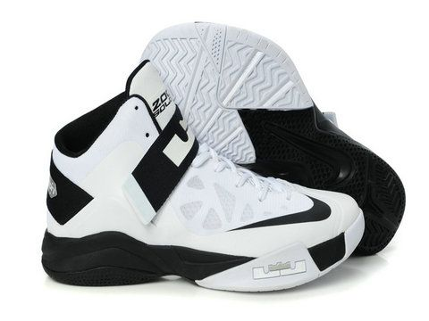Nike Zoom Soldier 6 White Black New