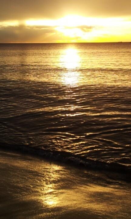Sunset city beach WA