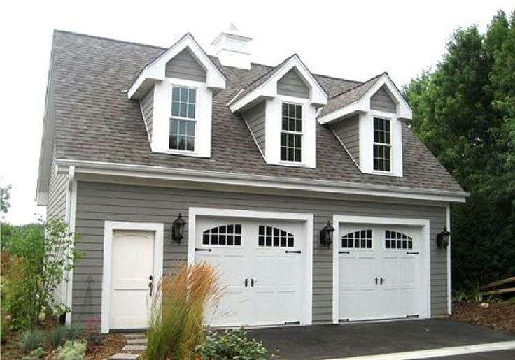 Two-Car Garage with Loft - 2226SL | Photo Gallery, CAD Available, PDF | Architectural Designs
