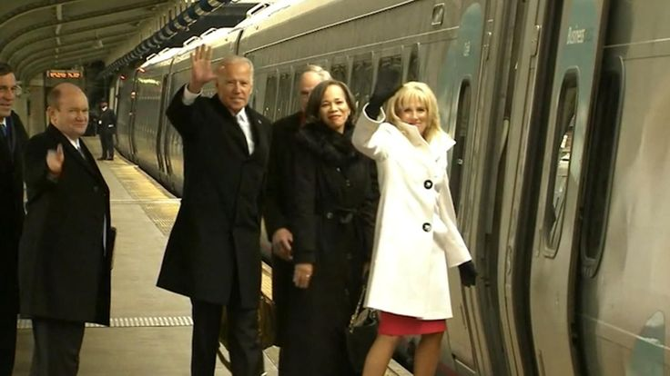 Watch Joe Biden Leave Washington D.C. on Amtrak After Donald Trump's Inauguration [Video]