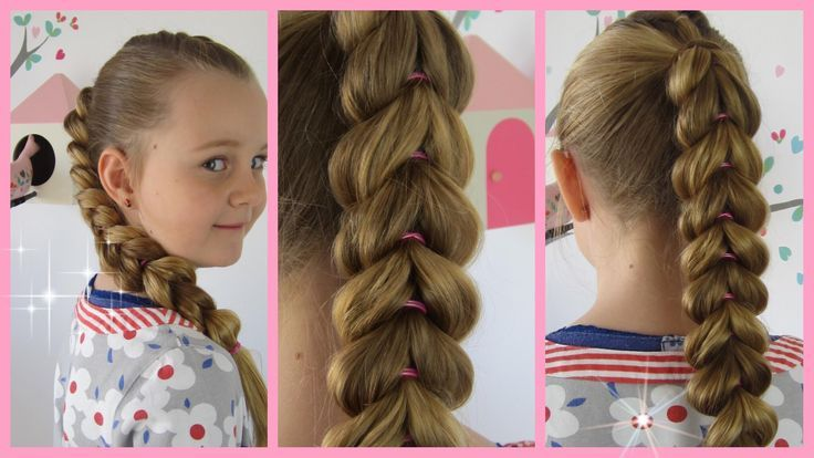 solid plait ♥ better than braiding ♥ hairstyle for girls