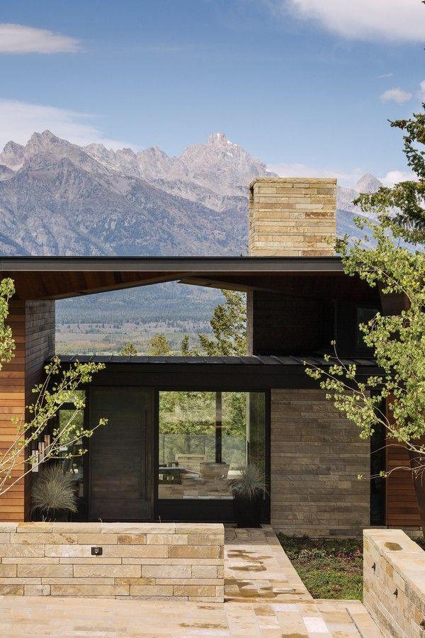 Mountain Architects Hendricks: 1000+ Ideas About Mountain Home Exterior On Pinterest